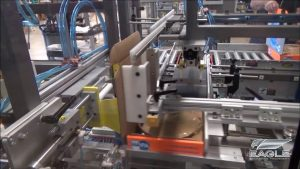Case Forming Machine System at Work
