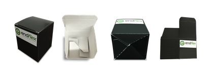 Different cartoning box example products
