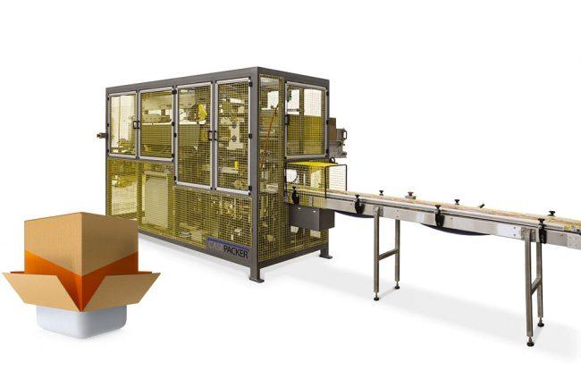 bottom load case packing machine