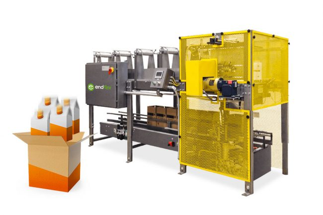 drop case packing machines