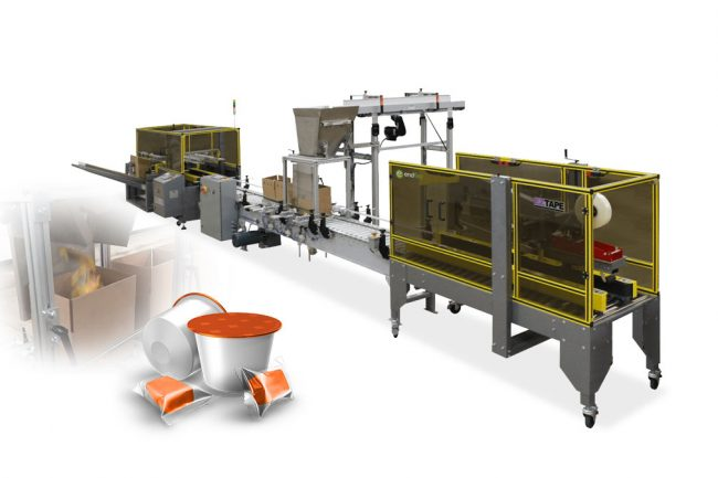 optical counting case packing machines