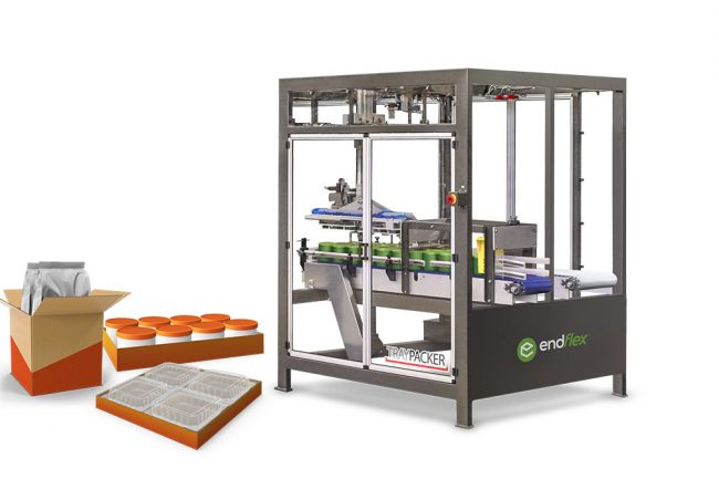 pick and place case packing machine