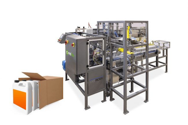 side load case packing machine