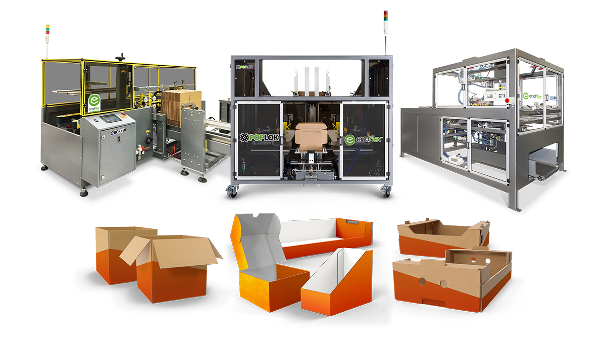 Case erectors for glue or tape box forming