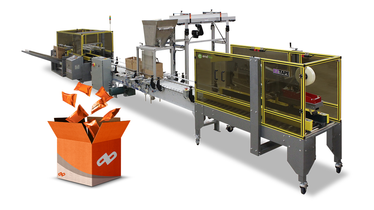 case filling and counting machine