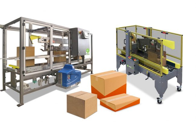 case and tray sealing machine